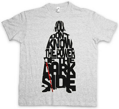 THE POWER OF THE DARK SIDE T-SHIRT - Darth Star Force Vader Wars Sith T Shirt
