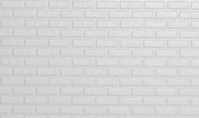 Tasma Products TAS002050 N Gauge Brick Embossed Plastic Sheet 1st Class