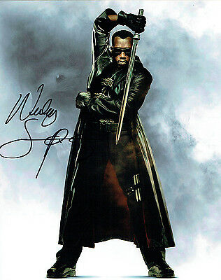 Wesley SNIPES SIGNED Autograph 10x8 BLADE Photo AFTAL COA BLADE