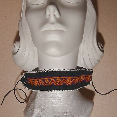 KUCHI Tribe BellyDance ATS Central Asia Embroidered CHOKER 798p7