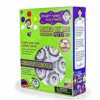 Crazy Aaron's Thinking Putty Kit 'Mixed by Me' Create Your Own Childrens Gift