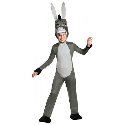 Deluxe Donkey Costume Shrek Halloween Fancy Dress