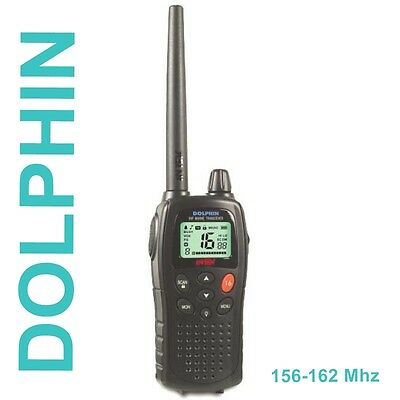 INTEK DOLPHIN Marino mr 8060 VHF FM 5 W RADIO BIDIREZIONALE 156-162 mhz