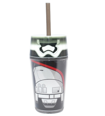 Star Wars The Force Awakens Captain Phasma 13Oz Tumbler With Straw Disney Cup
