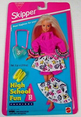 Skipper (Sister of Barbie) High School Fun Fashions Outfit 12619 (NEW)