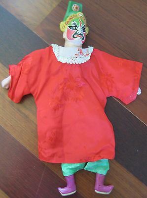 Vintage Japanese Chinese Oriental Muppet Doll Hand Made