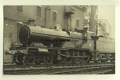 ry371 - LMS Railway Engine no 1038 - postcard