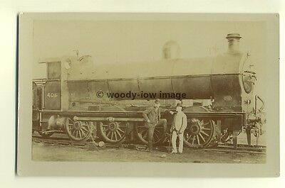 ry403 - Railway Engine no 405 - postcard