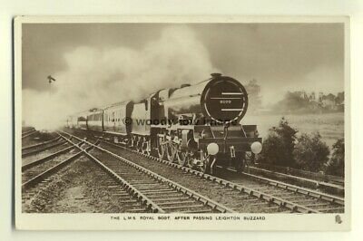 ry438 - LMS Railway Engine no 6100 Royal Scot - postcard