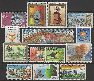 Gabon Stamp Collection #154//c277  (22) Complete Sets+(3) Ss    1961-1987  Mint