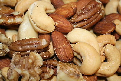 Mixed Nuts Deluxe Roasted Salted, 10Lbs