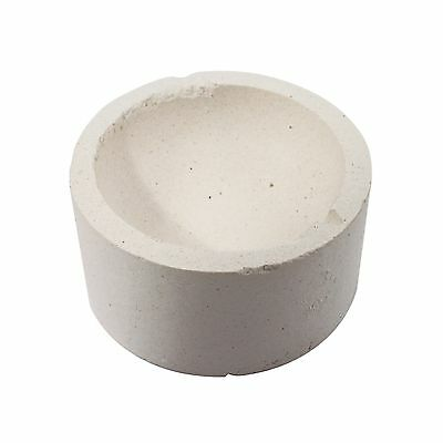 Gold and Silver Mineral Smelting Alumina Ceramic High Heat Melting Container Pot