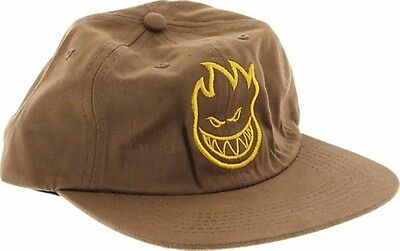 Spitfire Wheels BIGHEAD UNSTRUCTURED 6 PANEL Skateboard Hat BROWN