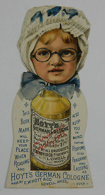 Hoyt's German Cologne Rubifoam For the Teeth Vintage Trade Card 216672