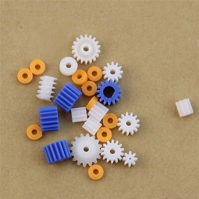 Plastic 16 Kinds Shaft Gears Spindle Gears Gear-B Worm 4MM 3.17MM 3MM 2.3MM 2MM