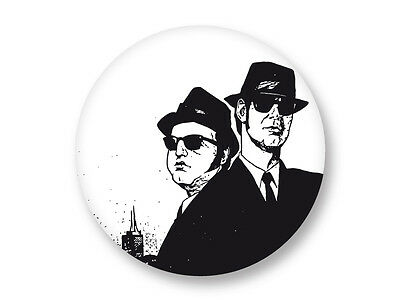 "Pin Button Badge Ø25mm 1"" The Blues Brothers Soul Blues Rock US"