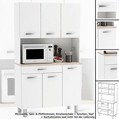 k chenzeile mit schrank einbauk che k chenblock f r einbauk hlschrank 270cm r5a0 eur 360 63. Black Bedroom Furniture Sets. Home Design Ideas