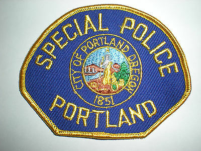 """Portland, Oregon Police Department """"special Police""""  Patch"""