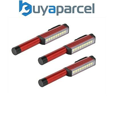 Lighthouse Pen Style Magnetic LED Inspection Light Torch - Pack of 3 L/HEINSP180