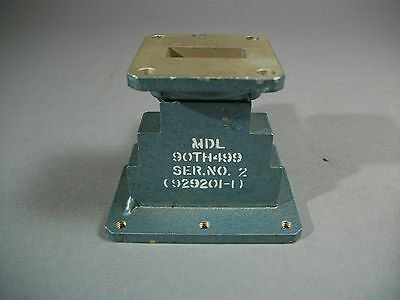 MDL WR-90 Waveguide Bus Conductor 90TH499, 929201-1 - USED
