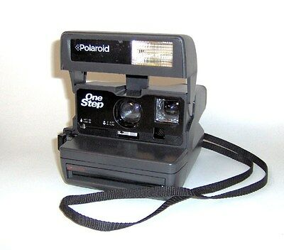Polaroid ONE STEP 600 Instant Film Camera-TESTED-Good Condition