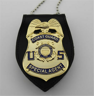 Coast Guard badge special agent badge Chain Belt holder-replica Free Shipping