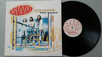 "SWV ""Someone"" feat: Puff Daddy  4 Track 12"" vinyl"