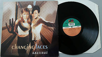 "Changing Faces ""GHETTOUT""  5 Track 12"" vinyl"
