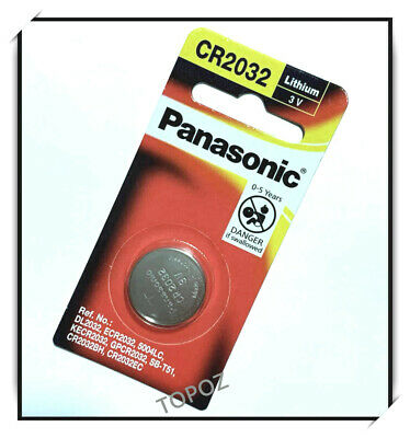 Brand New PANASONIC CR2032 3v Lithium Battery + free postage