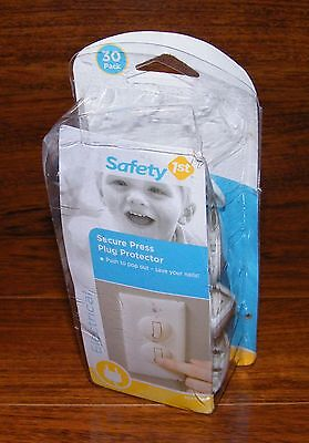 Safety 1st (HS140) 22 Secure Press Electrical Plug Protectors **READ**