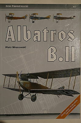 WW1 Imperial German Albatros B.II Reconnaissance Biplane Aircraft Reference Book