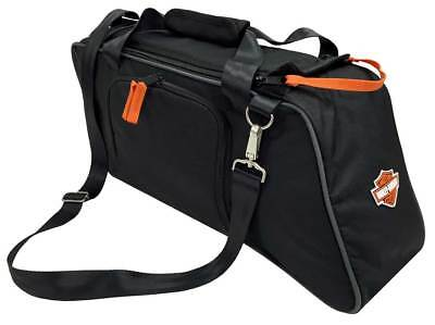Harley-Davidson Saddlebag Utility Tote Cooler, Bar & Shield Logo, Black 439-02