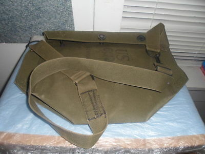 Military 98 Size Large Army Surplus Gas Mask Bag #5E