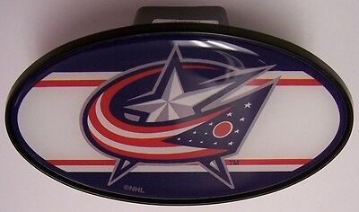 Trailer Hitch Cover NHL Hockey Columbus Blue Jackets NEW