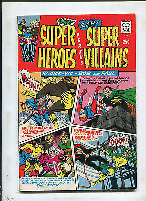 Super Heroes Versus Super Villians #1 (8.0) The Creature From The Abyss! 1966