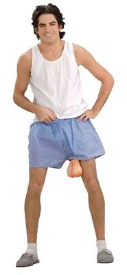 Just Hanging Around Shorts Boxers Balls std-xl Funny Men Costume Accessory adult