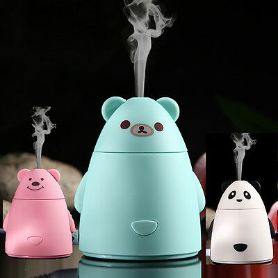 Aroma Diffuser Fragrances Essential Aromatherapy Air Humidifier Steam Mist USB