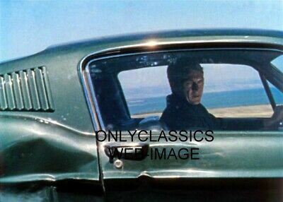 "1968 Steve Mcqueen As Detective Cop Bullitt Mustang Photo ""I Am Looking At You!"""