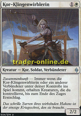 Abgeklärte Vögtin 2x Serene Steward Battle for Zendikar Magic