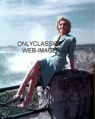1953 Sexy Beautiful Marilyn Monroe At Niagara Falls 8X10 Photo Pinup Cheesecake