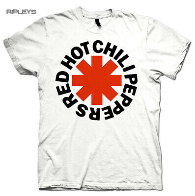 Official T Shirt RED HOT CHILI PEPPERS   Classic White Asterix All Sizes