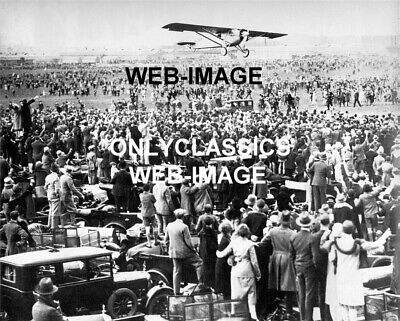 Lucky Lindy Charles Lindbergh Spirit Of St Louis Airplane Aviation Photo London