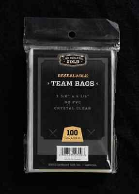 500 (5 Packs) CBG PREMIUM Resealable Ultra Team Bags NEXT GENERATION Pro TB