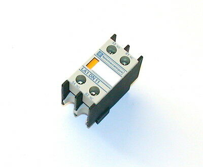 New Telemecanique Auxiliary Contact Block Model La1Dn1
