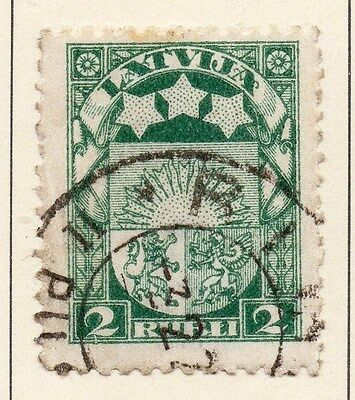 Latvia 1921-22 Early Issue Fine Used 2R. 013044