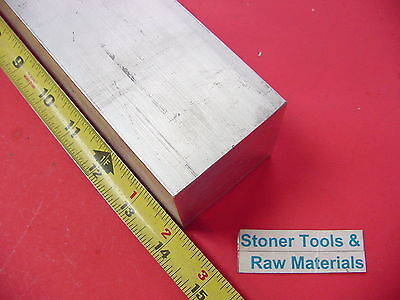 "2-1/4"" X 2-1/4"" ALUMINUM SQUARE 6061 SOLID BAR 14"" long T6511 Mill Stock 2.25"