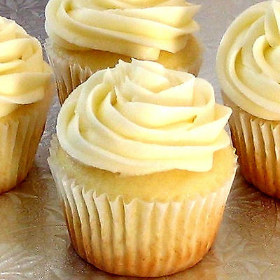 VANILLA CUPCAKES Bath Body & Massage Oil EXTRA STRONG TRIPLE SCENTED