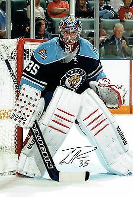 Tyler PLANTE Ice HOCKEY Florida Panthers Signed Autograph Photo AFTAL COA