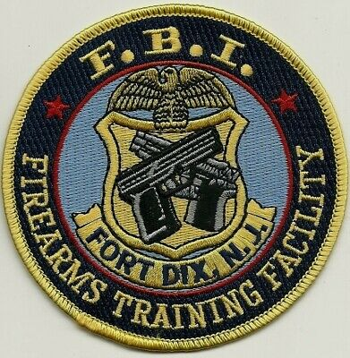 FBI: FIREARMS TRAINING FACILITY (Pistolen - Waffe) Police Patch Polizei Aufnäher