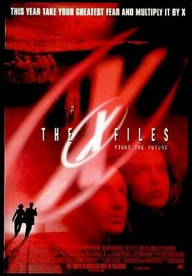 X-Files Advance Intl Style E Two Sided 27x40 inches Original Movie Poster